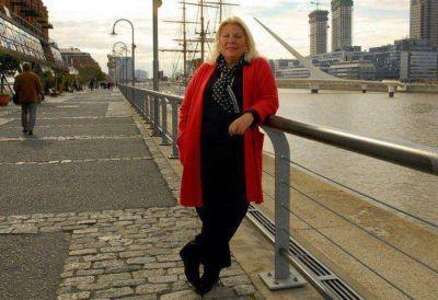 Elisa Carrió: un régimen la hizo bajar 18 kilos en 60 días