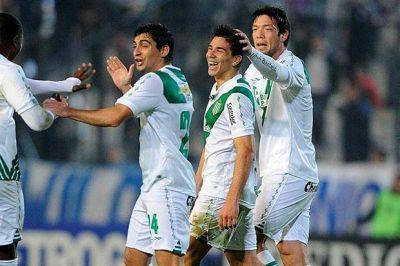 Giovanni Simeone debutó en Banfield, que le ganó a Quilmes 1-0 gracias a un gol suyo
