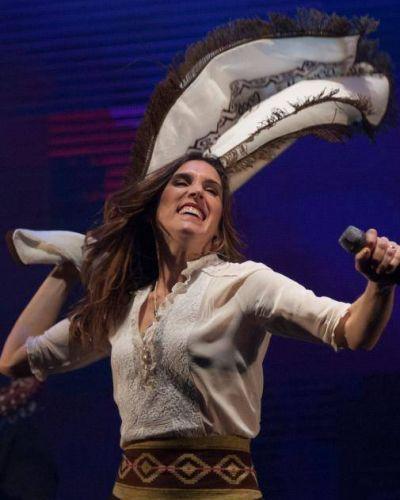Soledad presenta su nuevo disco en la Fiesta del Poncho