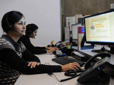 Las consultas al servicio 147 ya llegan a las 120 mil llamadas al mes