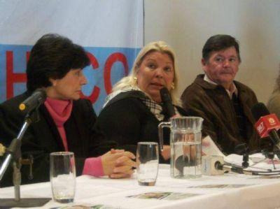 Lilita llega el martes a Chaco: presenta libro y candidatos