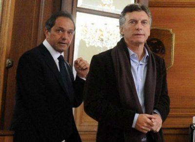 Encuesta Mora y Araujo: Scioli gana cómodo en primera vuelta por 7 puntos pero Macri puede