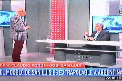 """Poggi: """"Adolfo Rodríguez Saá llevará el modelo San Luis a la Nación"""""""