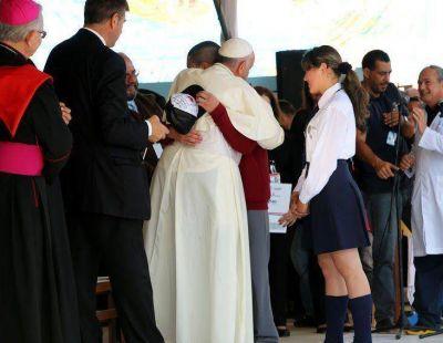 El Papa Francisco lanza la misión de Scholas en Paraguay como cierre de su visita