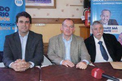 """""""Queremos implementar en la provincia de Buenos Aires el modelo San Luis"""""""