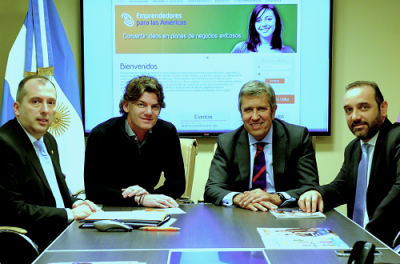 España se suma a red de emprendedores de la región