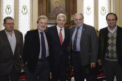 El PSol de Carlos Heller respaldó la fórmula de Julián Domínguez y Fernando Espinoza