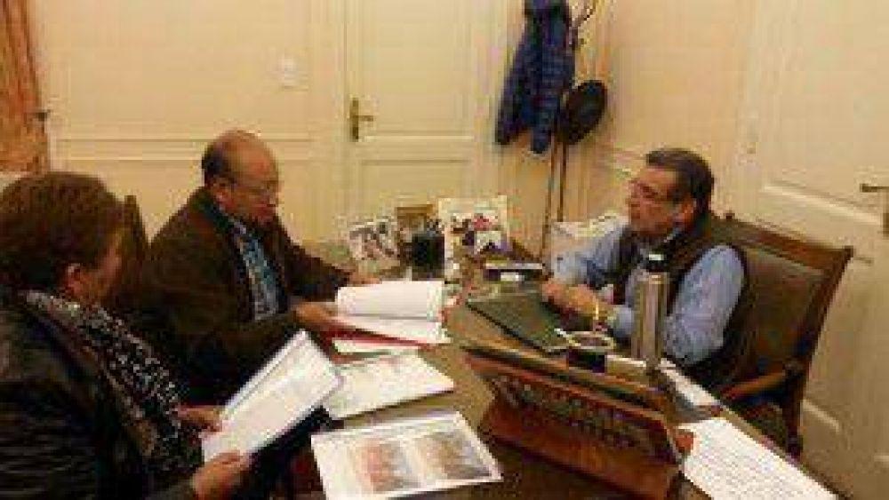El Gobernador recibió a la intendenta electa de Vinchina