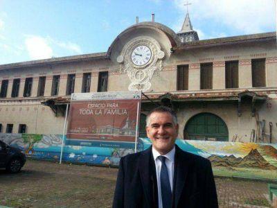 """Castagneto: """"Vamos a iniciar la licitación para la segunda fase de las obras del Instituto Unzué"""""""