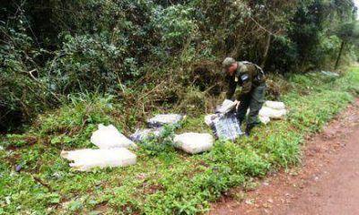 Con 382 kilos de marihuana, desarticularon banda narcotraficante