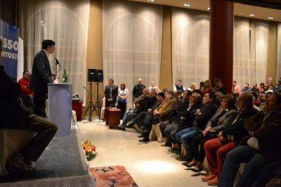 Grasso lanzó su candidatura a intendente de Río Gallegos