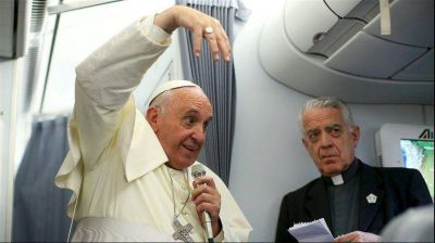 Inusual mea culpa del Papa a la clase media: