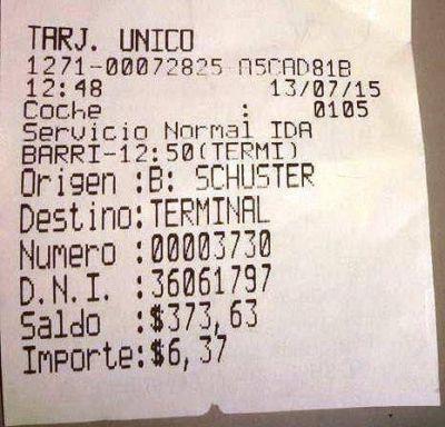 Usuarios del boleto urbano de colectivos denuncian sobreprecios en las tarjetas diferenciadas en Oberá