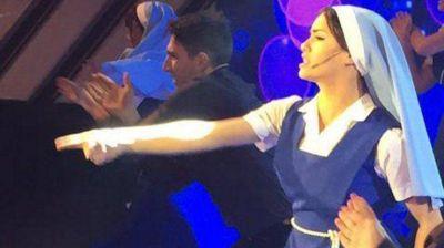 Lali Espósito brilló en ShowMatch con Esperanza Mía el musical