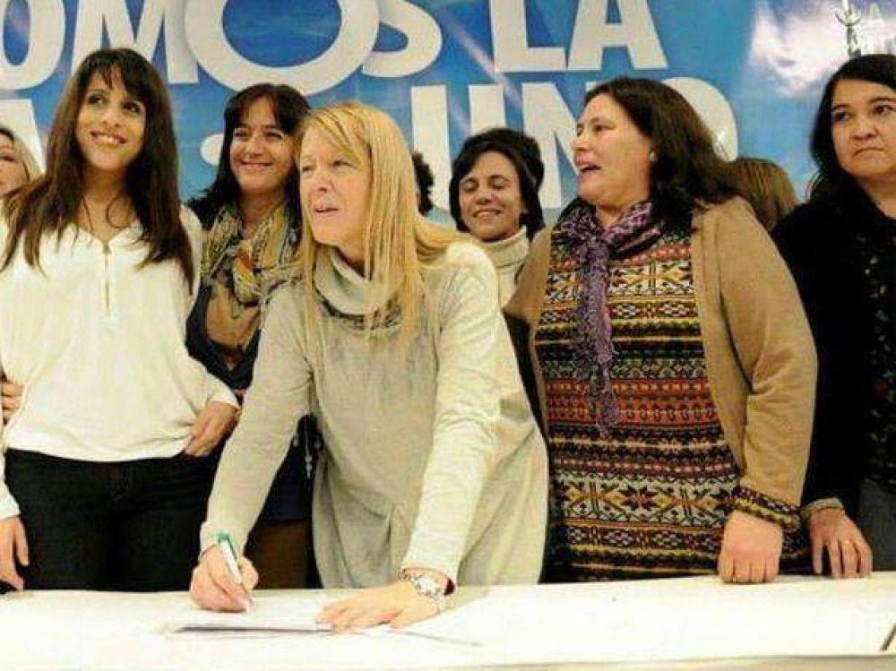 Tugnarelli junto a Stolbizer y Donda por la agenda de género