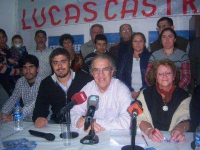 Se presentaron los candidatos del Frente Progresista