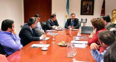 El intendente Isa encabezó hoy la reunión de Gabinete