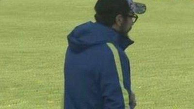 Arruabarrena pone a Tevez como titular en una pr�ctica que cont� con la visita de Osvaldo