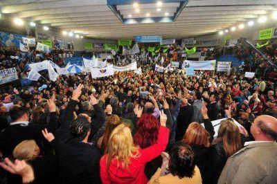 En un multitudinario acto, el peronismo presentó sus candidatos en Villa Mercedes