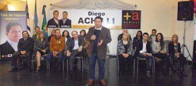 """Achilli sobre la interna del massismo: """"De todas las listas, hay algunas que son de Curto y otras que no"""""""