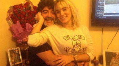 El contundente mensaje de Rocío Oliva ante los rumores de crisis con Maradona