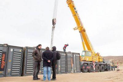 López dijo que los generadores que se instalan en Rada Tilly estarán funcionando antes del fin de semana