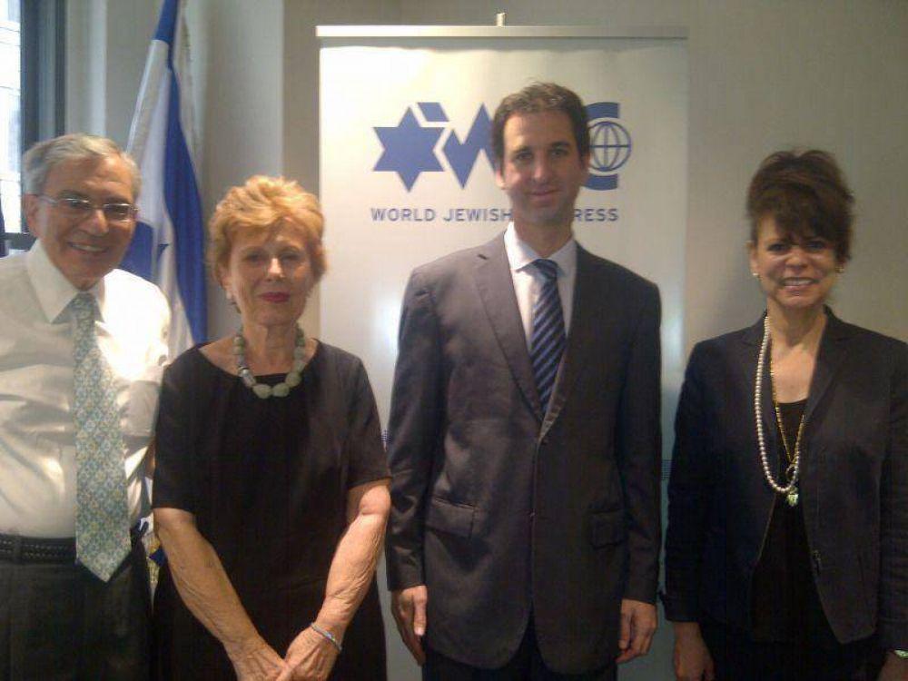 La DAIA con el Congreso Judío Mundial