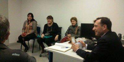 Facundo Celasco entregó jubilaciones en la ANSES