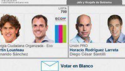 """ECO lleva la batalla por el """"voto en blanco"""" de la BUE a la Corte Suprema a días del balotaje"""