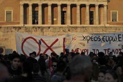 El congreso griego ya debate las medidas para seguir en la zona euro