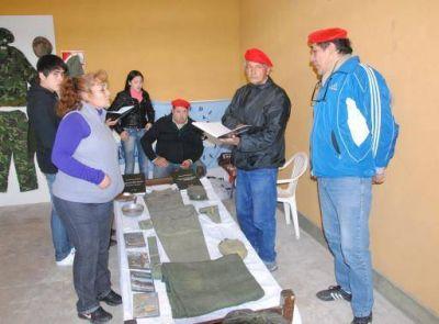 Poncho 2015, destacada presencia de la Agrupación 7 de Abril, movilizados a Malvinas