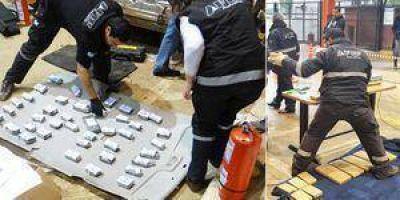 Cerca de cuarenta kilos de marihuana fueron incautados en Puerto Pilcomayo
