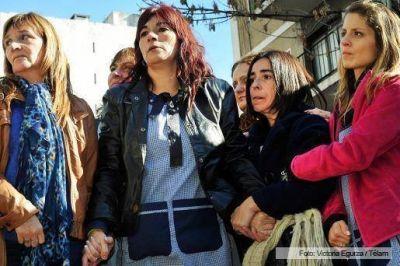 Multitudinario acto de respaldo a las docentes apartadas por el gobierno porteño