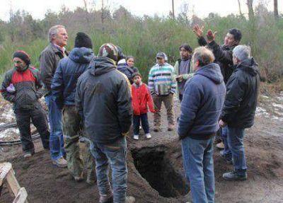 Mapuches intentaron pinchar un caño de agua