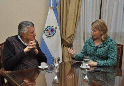 Tras su trasplante Mariela Ginestar se reunió con el gobernador