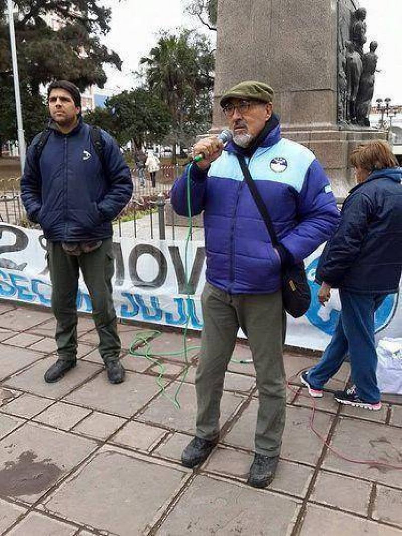 Moviliz� el SEOM Jujuy por el 82 por ciento m�vil