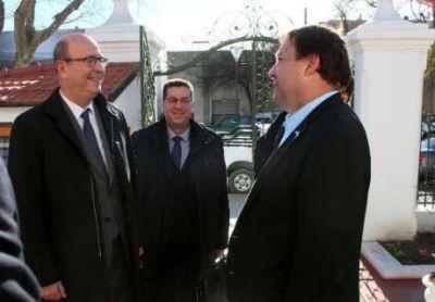 Weretilneck recibió al presidente de Petrobras