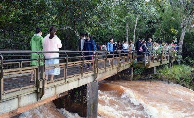 Cataratas cierra la primera quincena de julio con casi 60 mil visitas y el espectáculo del gran caudal de agua