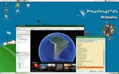 "Presentan en Santa Cruz software libre ""Huayra Primaria"""