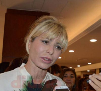 Karina Rabolini viene a la provincia mañana y estará hasta el sábado