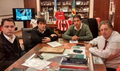 Collia se reunió con candidato a Intendente del FpV
