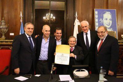 La Legislatura distinguió al Congreso Judío Latinoamericano por su trabajo interreligioso