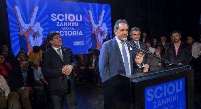 Scioli se reunió con Foster y Jozami, los intelecuales que intentaron limar su candidatura