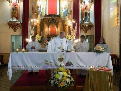 Con misa y procesión culminaron las fiestas de la Virgen del Carmen