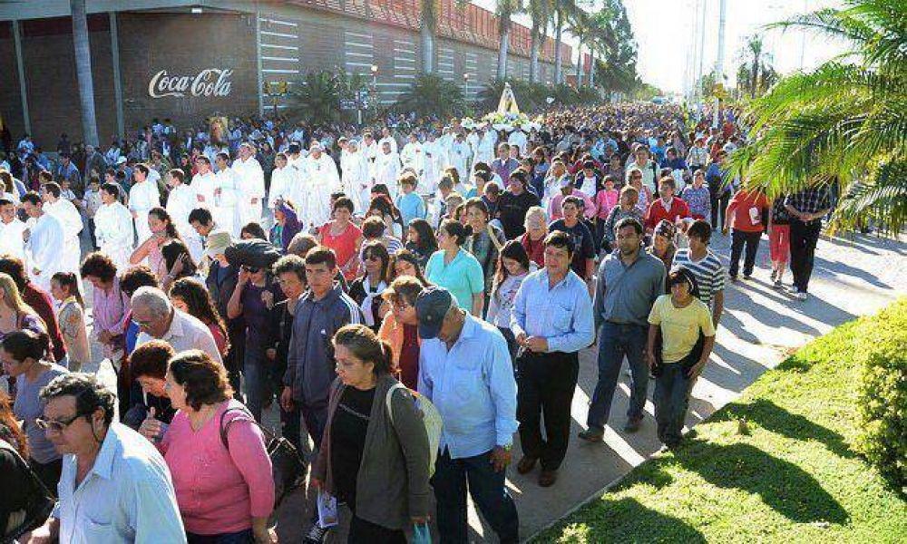 """Conejero pidió erradicar """"la corrupción, la droga y el narcotráfico que tanto sufrimiento y dolor acarrean a nuestro pueblo"""""""