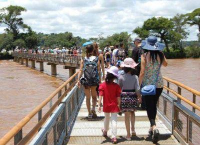 Casi 60 mil personas visitaron Cataratas en lo que va de julio