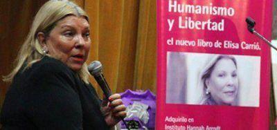 Lilita Carrió llega este viernes a la provincia y estará en Iguazú