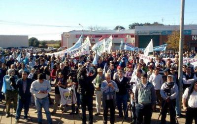 Con actos y movilizaciones arranca hoy otra protesta del campo