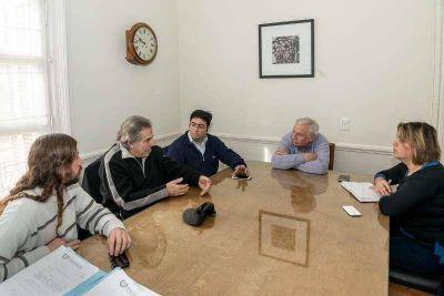 """Bossio con Tassara y Laplace luego del estreno nacional de """"Fábricas"""""""