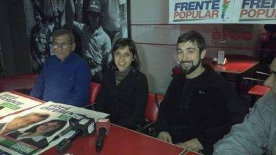 Candidata del Frente Popular visitó Balcarce